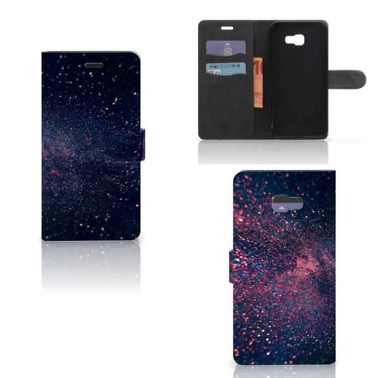 Samsung Galaxy A7 2017 Bookcase Stars