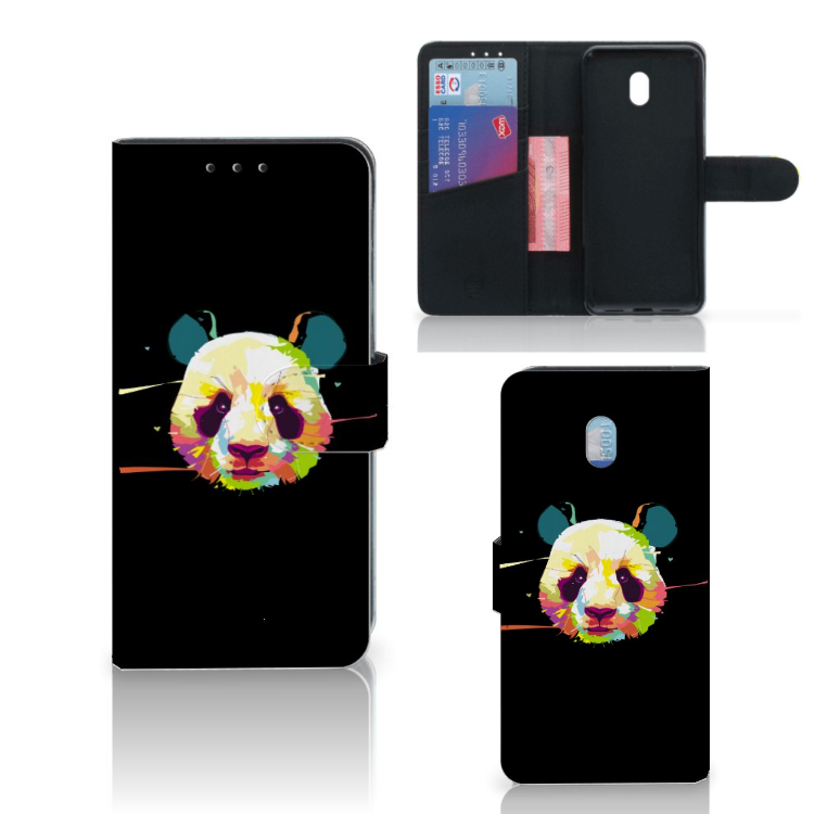 Xiaomi Redmi 8A Leuk Hoesje Panda Color