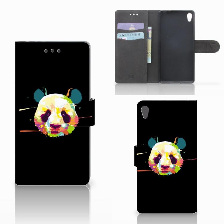 Sony Xperia E5 Leuke Hoesje Panda Color