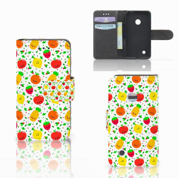 Nokia Lumia 530 Book Cover Fruits