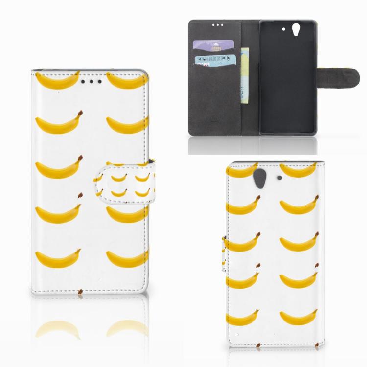 Sony Xperia Z Book Cover Banana