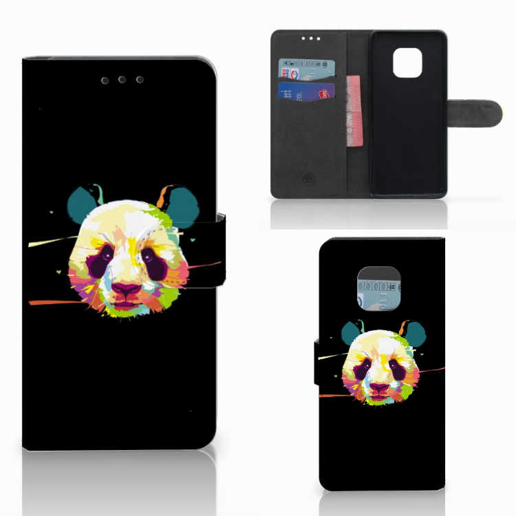 Huawei Mate 20 Pro Leuke Hoesje Panda Color