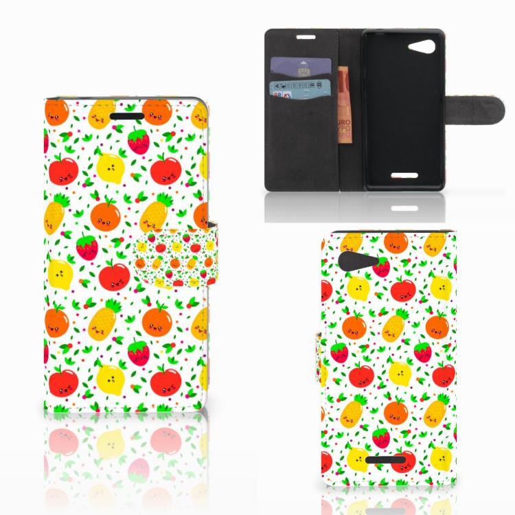 Sony Xperia E3 Book Cover Fruits