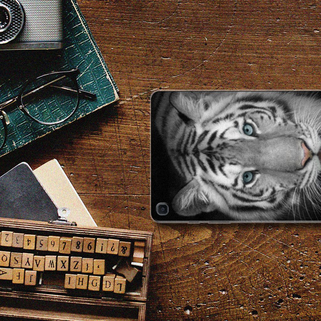 Samsung Galaxy Tab A 8.0 (2019) Back Case Tijger