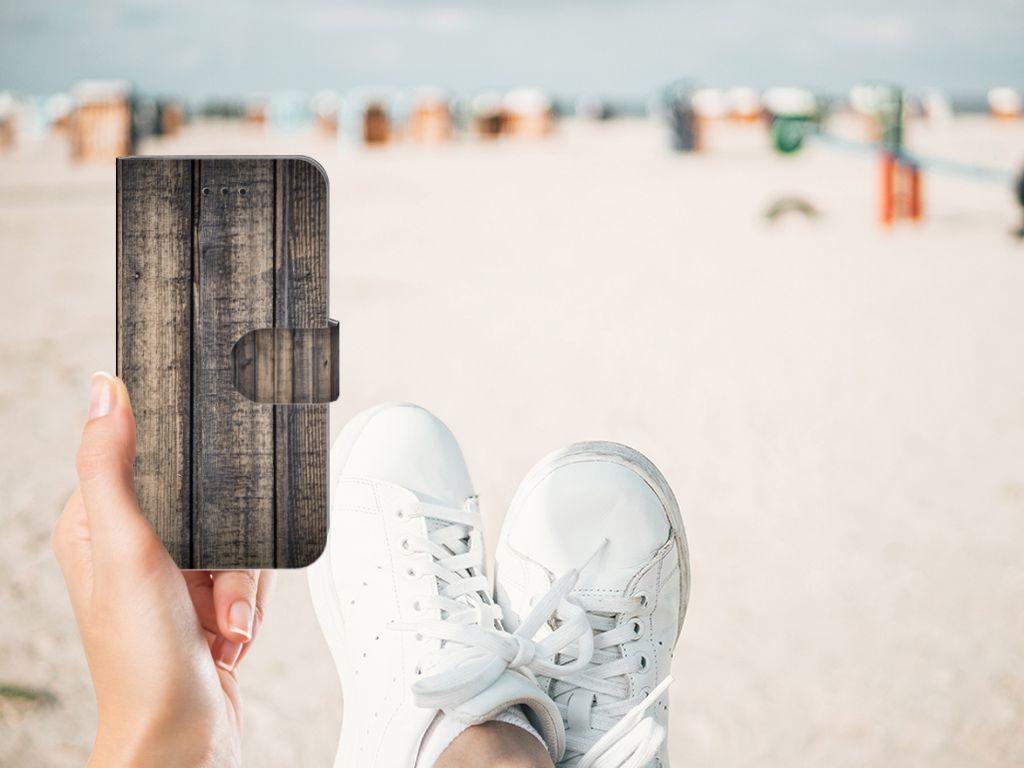 Apple iPhone X | Xs Book Style Case Steigerhout