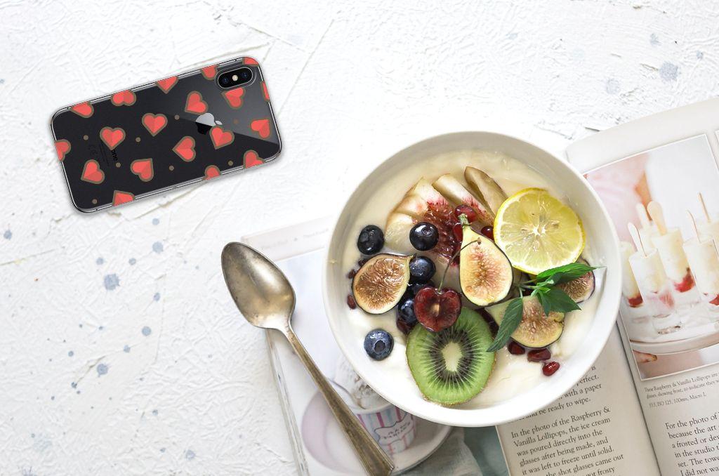 Apple iPhone X | Xs TPU bumper Hearts