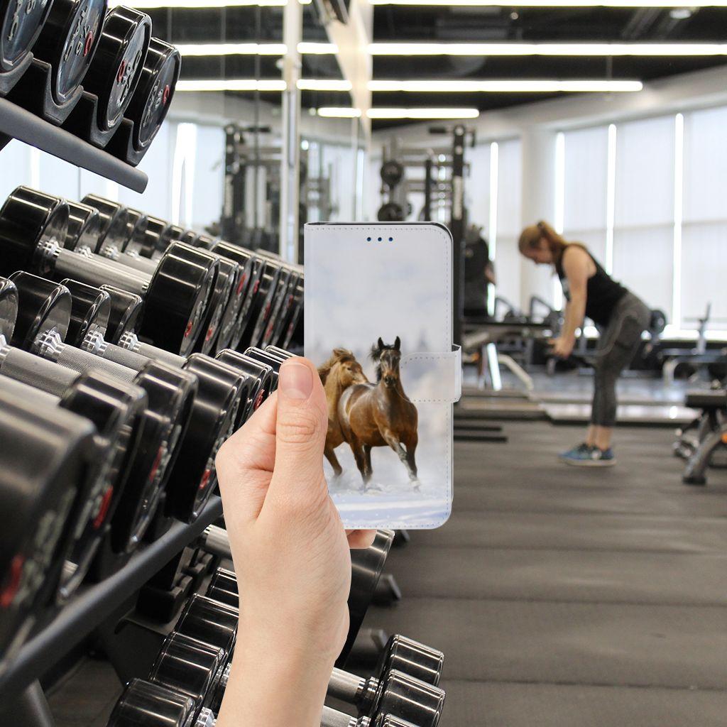 Samsung Galaxy S8 Telefoonhoesje met Pasjes Paarden