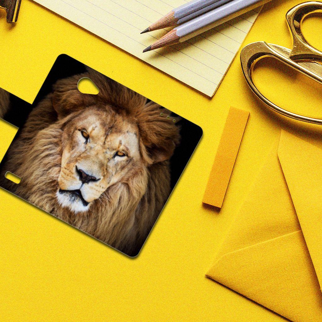 LG Bello 2 Telefoonhoesje met Pasjes Leeuw
