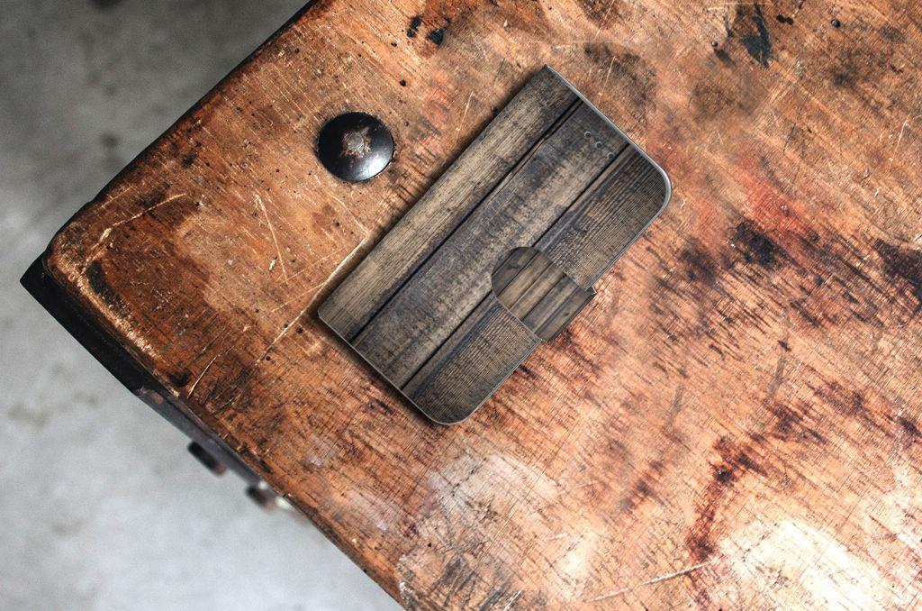 Samsung Galaxy Core Prime Book Style Case Steigerhout