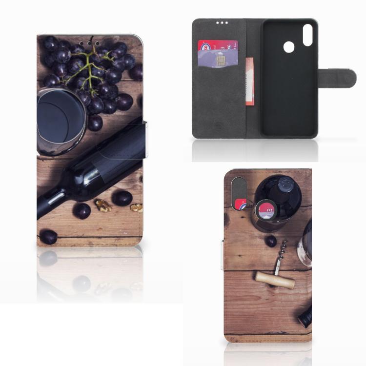Huawei P Smart Plus Book Cover Wijn