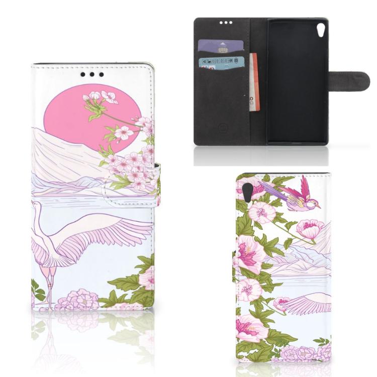 Sony Xperia XA Ultra Telefoonhoesje met Pasjes Bird Standing