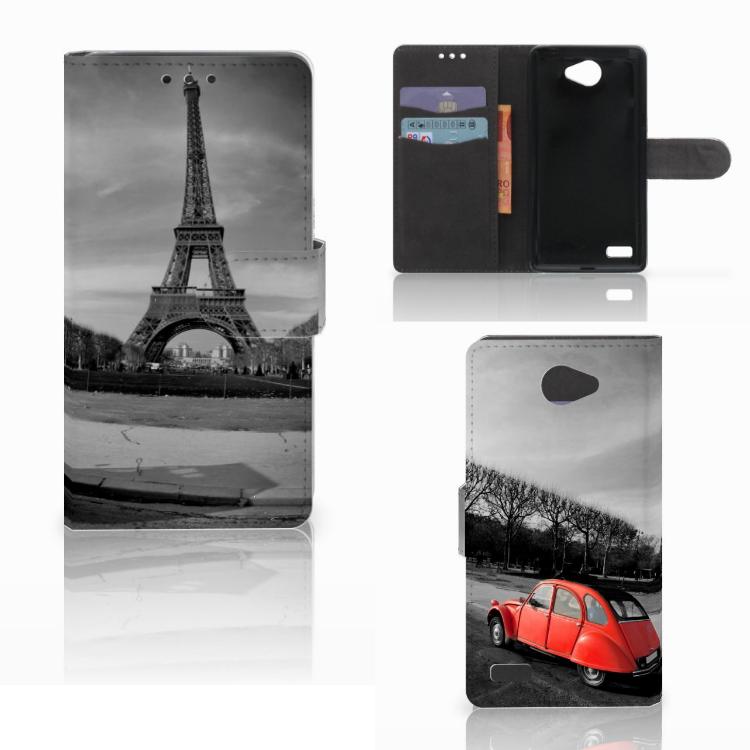LG Bello 2 Flip Cover Eiffeltoren