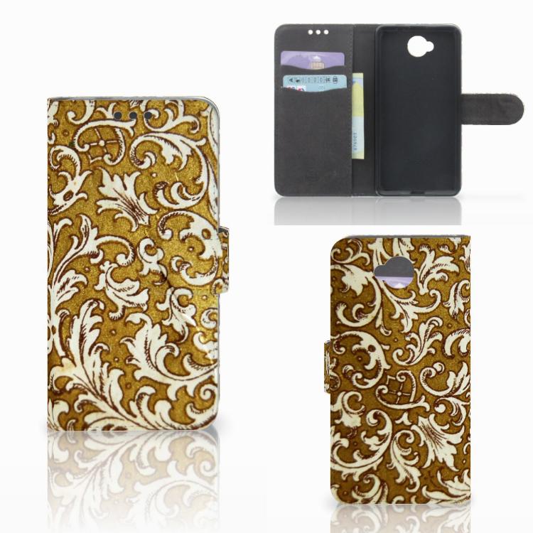 Wallet Case Microsoft Lumia 650 Barok Goud