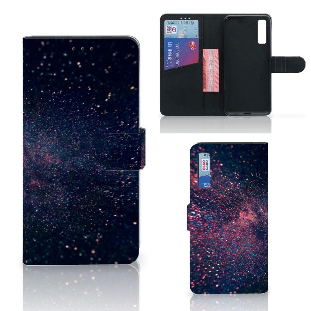 Samsung Galaxy A7 (2018) Bookcase Stars