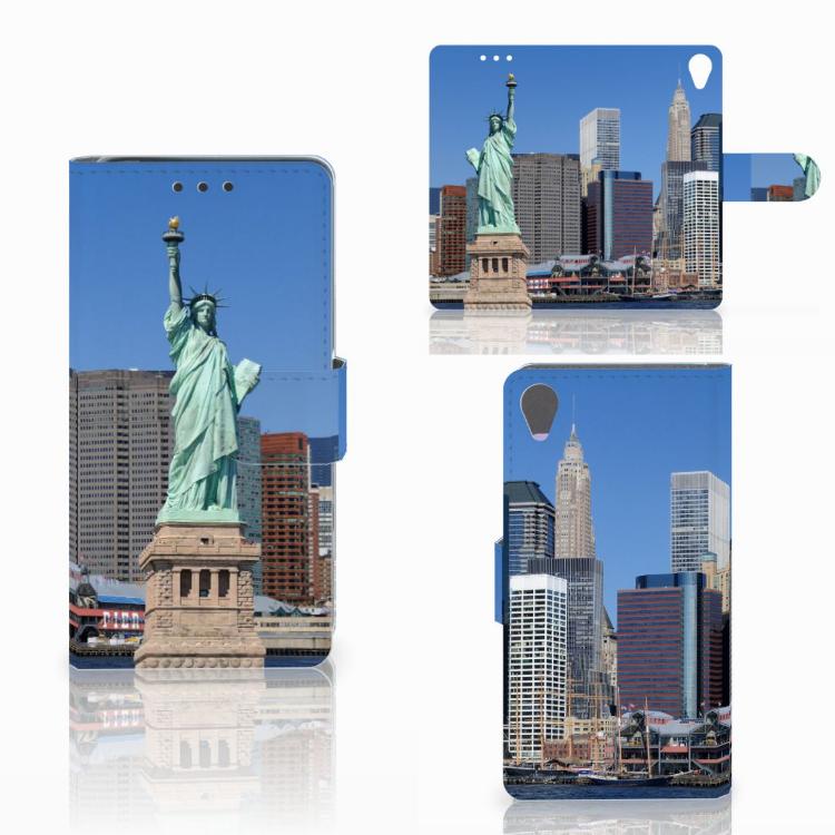 Sony Xperia X Flip Cover Vrijheidsbeeld
