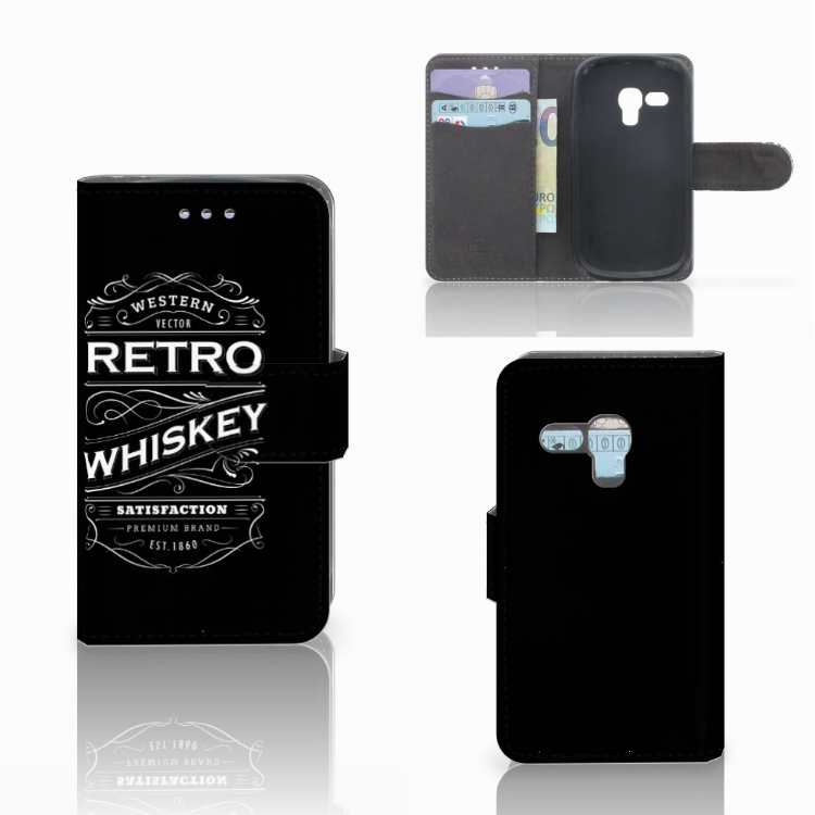 Samsung Galaxy S3 Mini Book Cover Whiskey