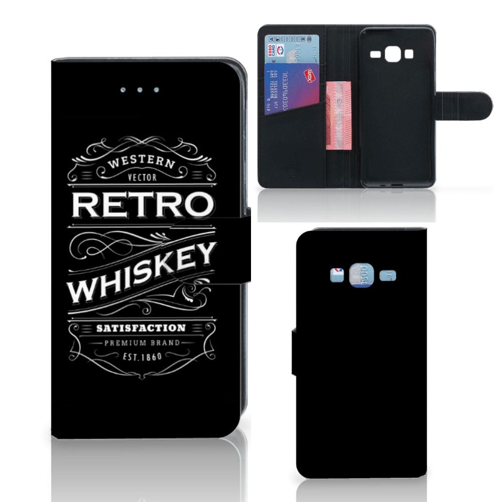 Samsung Galaxy J3 2016 Book Cover Whiskey