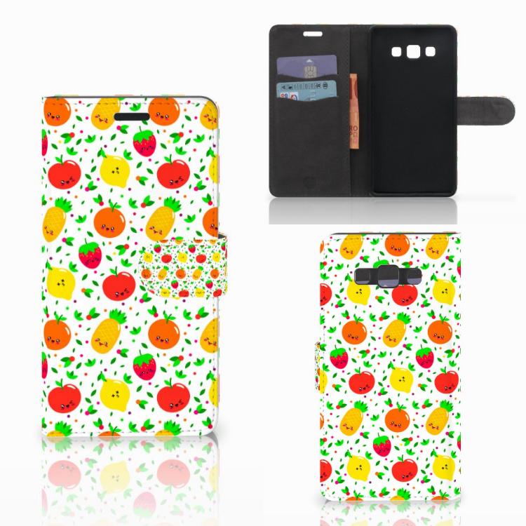 Samsung Galaxy A7 2015 Book Cover Fruits