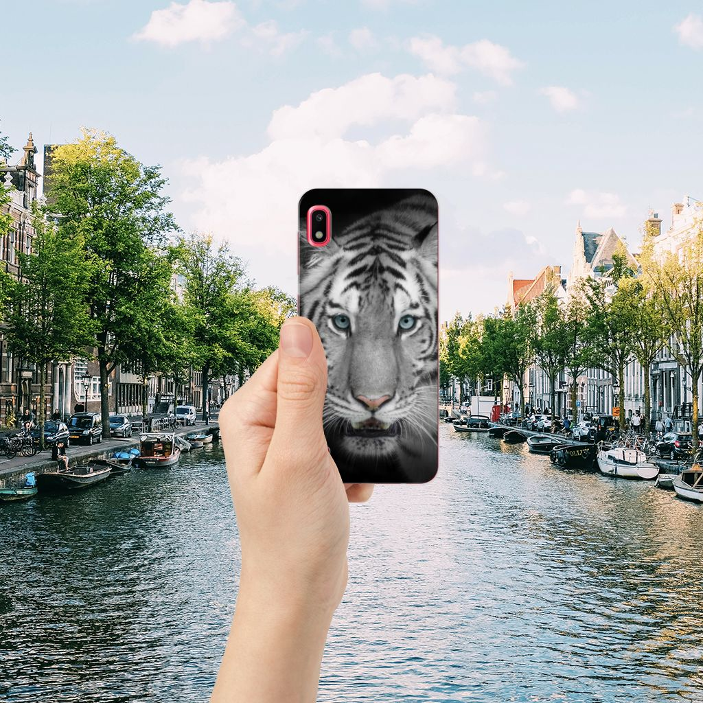 Samsung Galaxy A10 TPU Hoesje Tijger