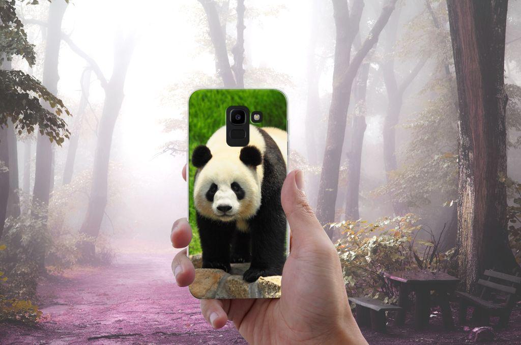 Samsung Galaxy J6 2018 TPU Hoesje Panda