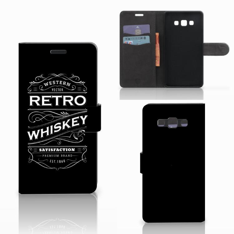 Samsung Galaxy A7 2015 Book Cover Whiskey