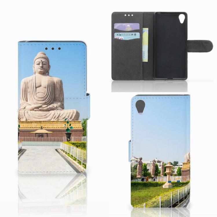 Sony Xperia X Flip Cover Boeddha