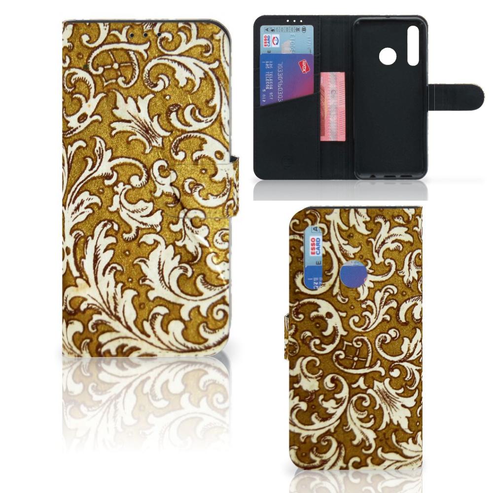 Wallet Case Huawei P Smart 2019 Barok Goud