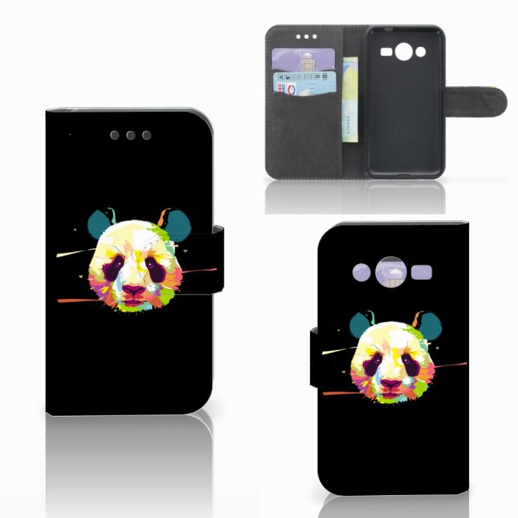 Samsung Galaxy Core 2 Leuke Hoesje Panda Color