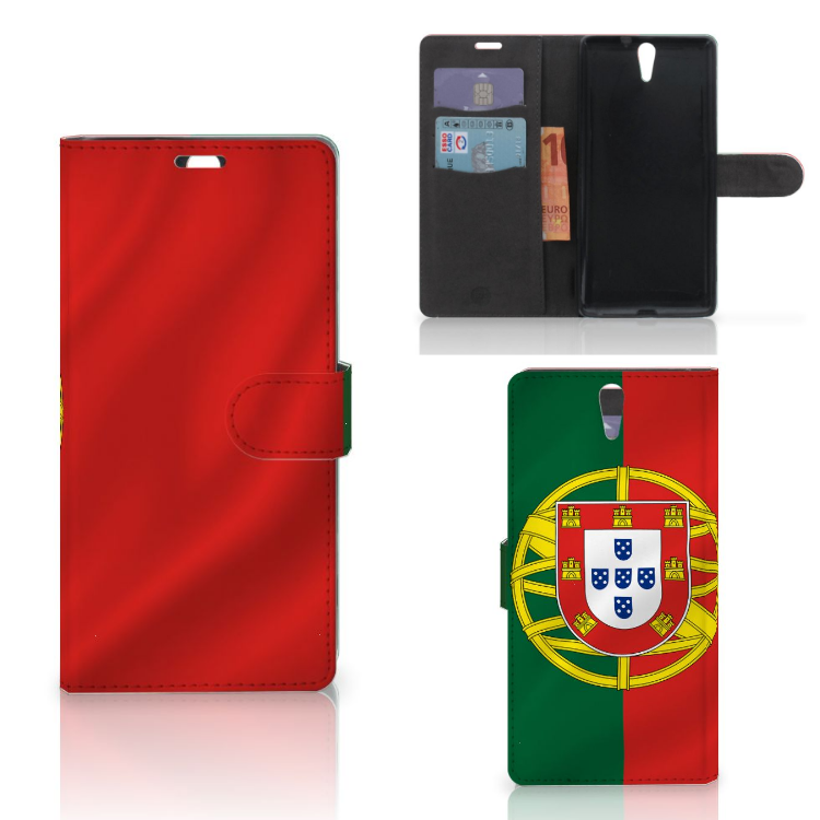 Sony Xperia C5 Ultra Bookstyle Case Portugal