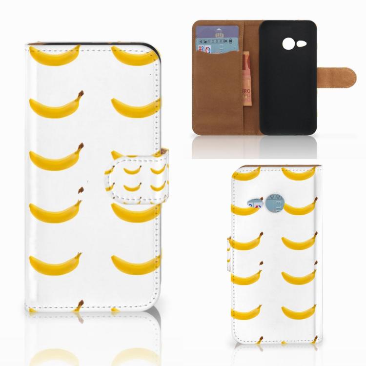 HTC One Mini 2 Book Cover Banana