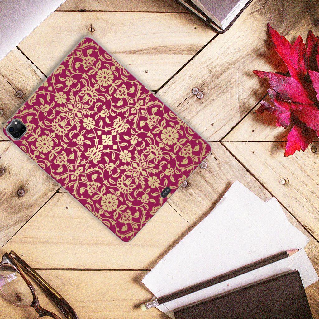 TPU Case iPad Pro 12.9 (2020) Barok Pink