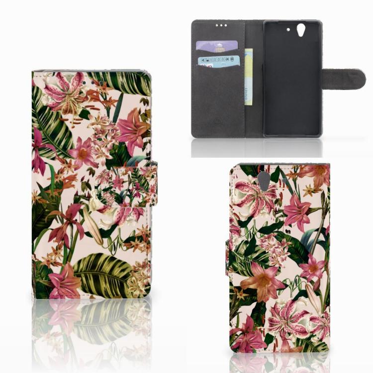 Sony Xperia Z Hoesje Flowers