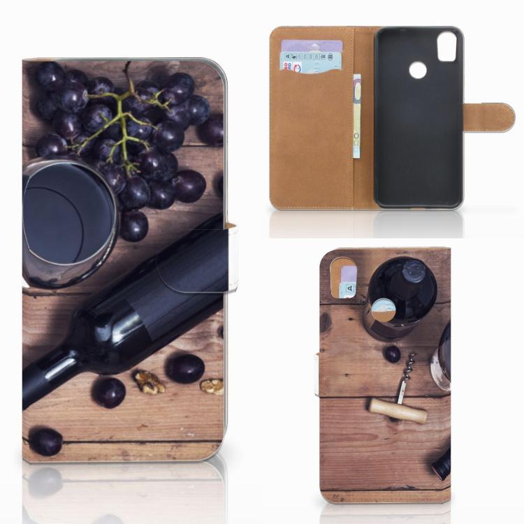 HTC Desire 10 Pro Book Cover Wijn