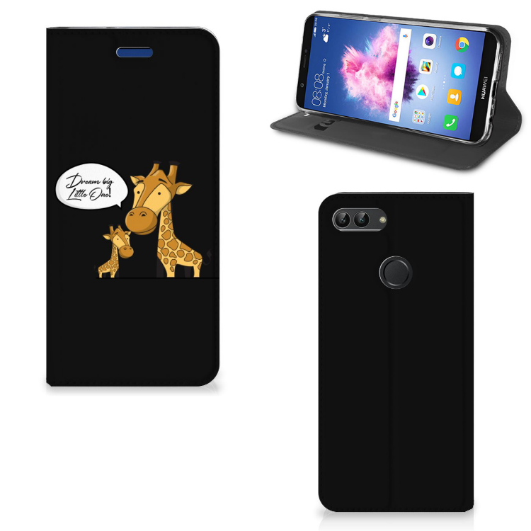 Huawei P Smart Magnet Case Giraffe