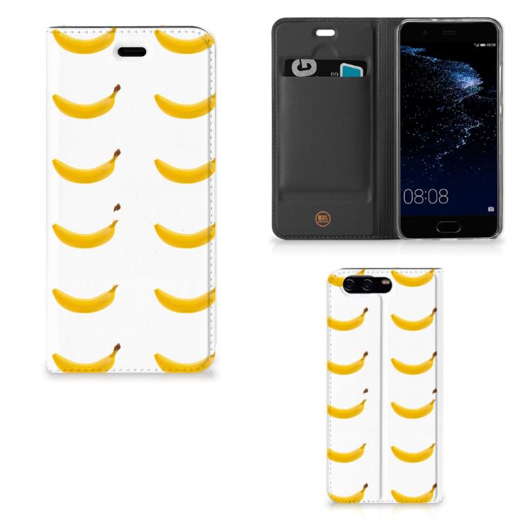 Huawei P10 Flip Style Cover Banana