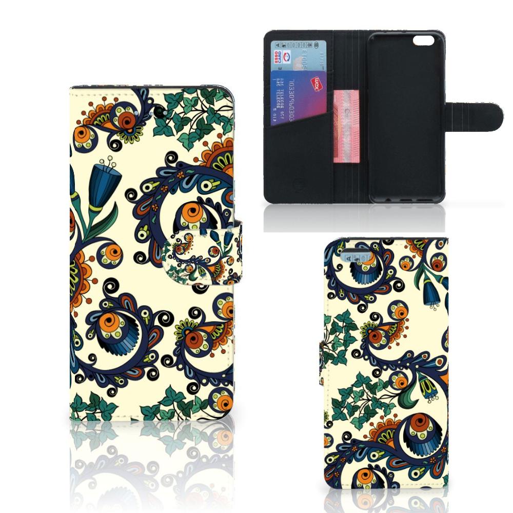 Wallet Case Apple iPhone 6 Plus   6s Plus Barok Flower