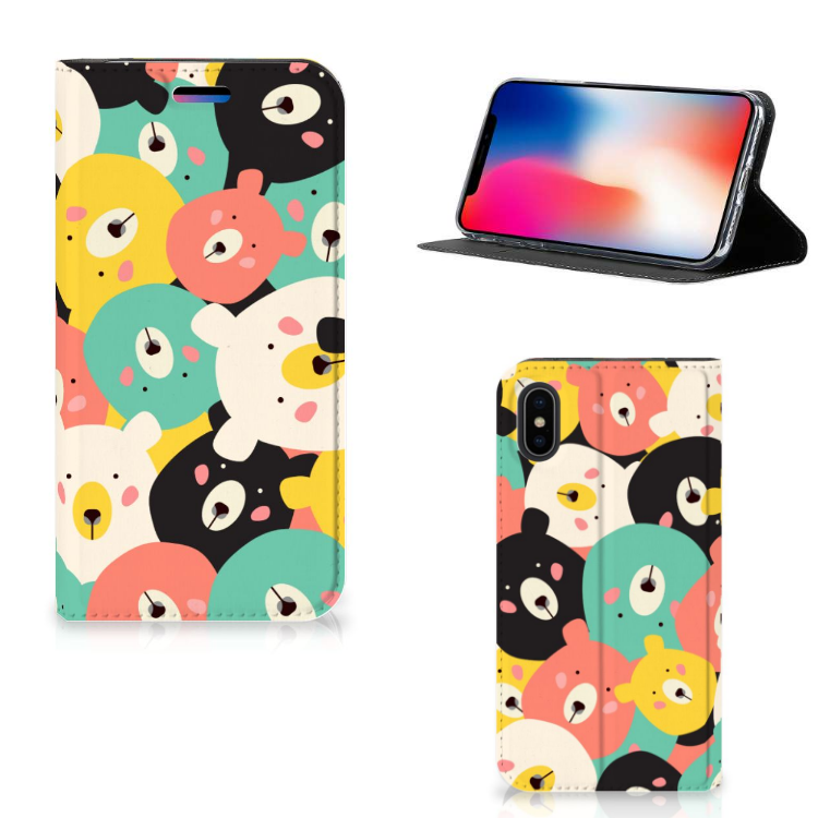 Apple iPhone X | Xs Magnet Case Bears