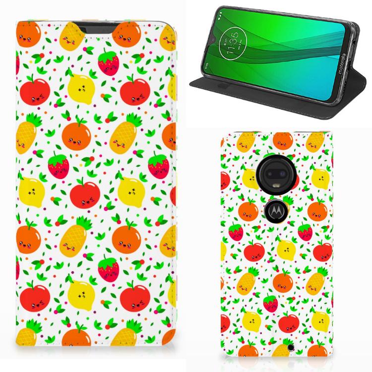 Motorola Moto G7 | G7 Plus Flip Style Cover Fruits