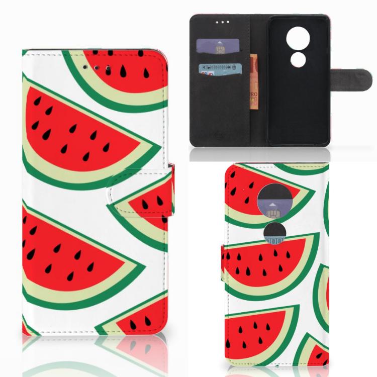 Motorola Moto E5 Play Book Cover Watermelons