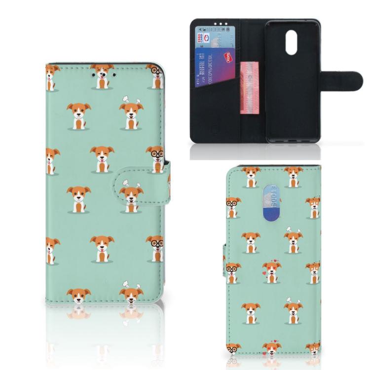 OnePlus 6T Telefoonhoesje met Pasjes Pups