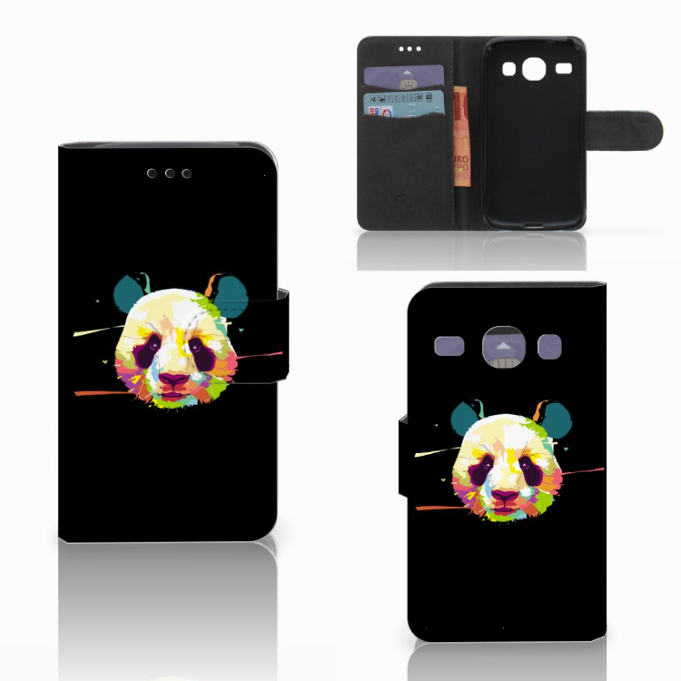 Samsung Galaxy Core i8260 Leuk Hoesje Panda Color