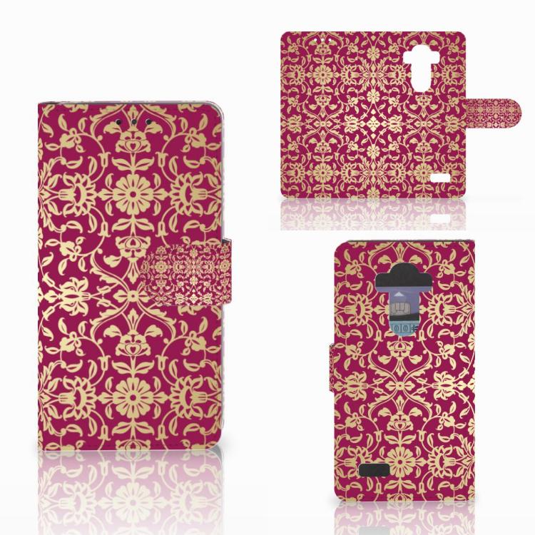 Wallet Case LG G4 Barok Pink