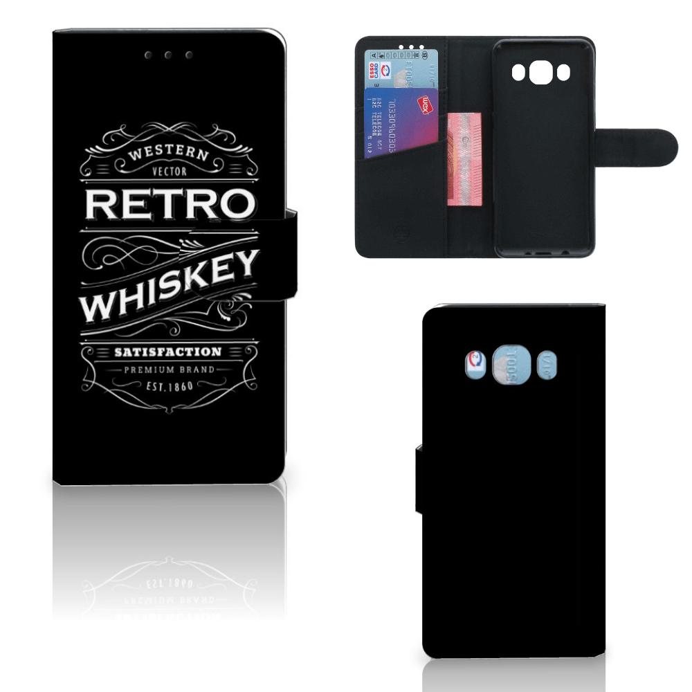 Samsung Galaxy J5 2016 Book Cover Whiskey
