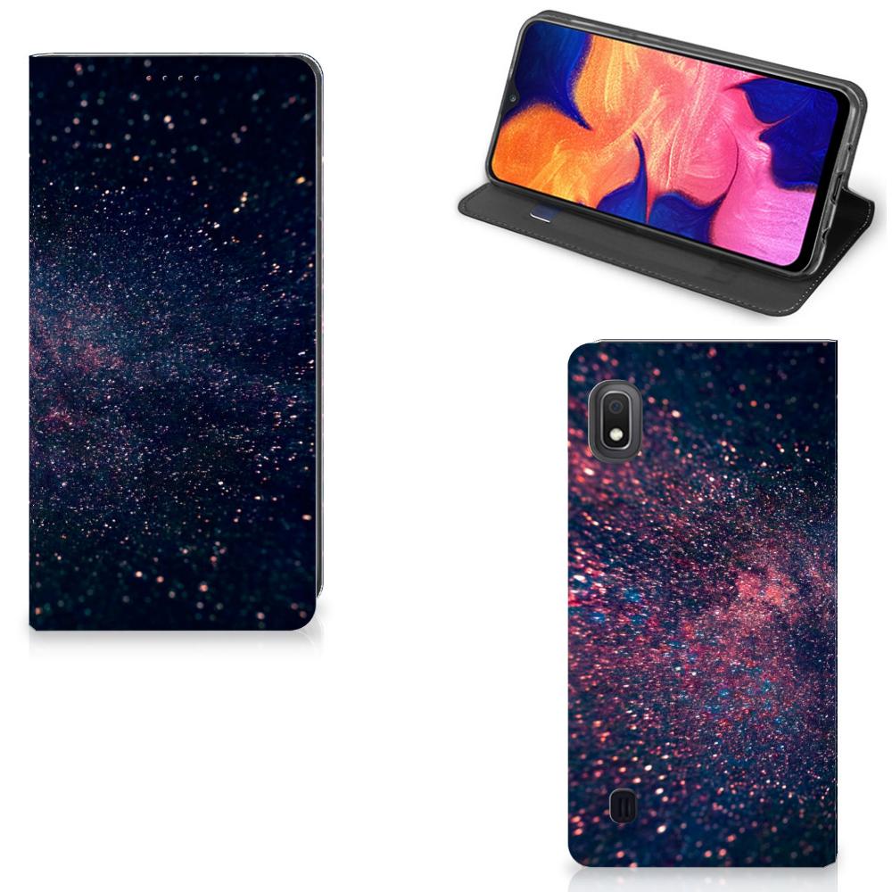 Samsung Galaxy A10 Stand Case Stars