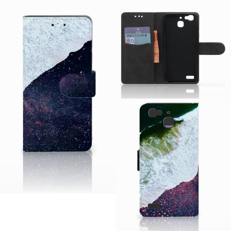 Huawei P8 Lite Smart (GR3) Bookcase Sea in Space