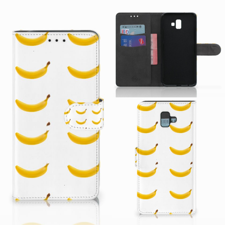 Samsung Galaxy J6 Plus (2018) Book Cover Banana
