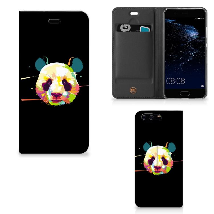 Huawei P10 Magnet Case Panda Color