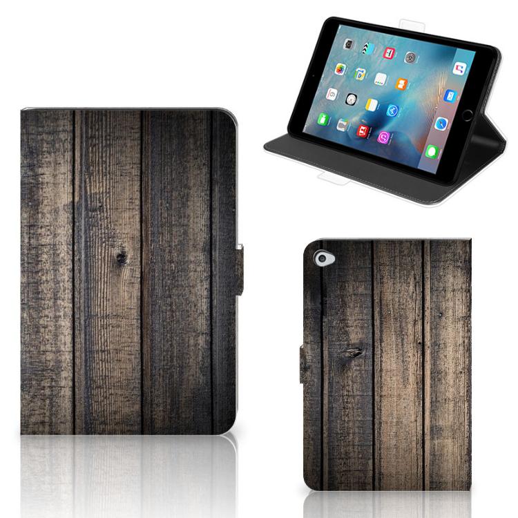 Apple iPad Mini 5 Tablet Book Cover Steigerhout