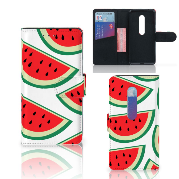 Motorola Moto G 3e Generatie Book Cover Watermelons