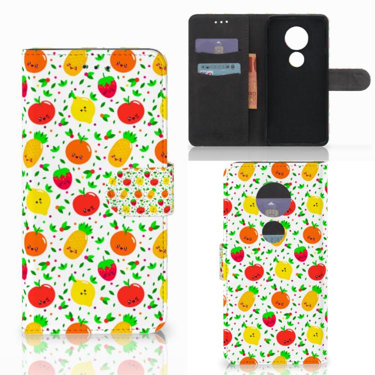 Motorola Moto E5 Play Book Cover Fruits